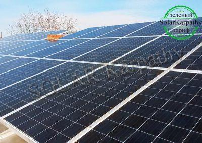 """СЕС потужністю 10 кВт (44 панелі), """"Зелений"""" тариф, м. Мукачево"""