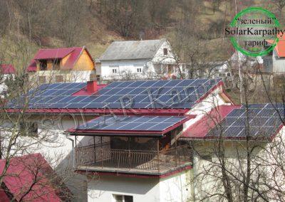 """Сетевые солнечные электростанции мощностью 30 кВт и 10 кВт, """"Зеленый"""" тариф, с. Ольховцы, Тячевский р-н"""