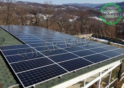 """Сонячна електростанція потужністю 30 кВт під """"Зелений"""" тариф, с. Вільхівці-Лази, Тячівський р-н"""