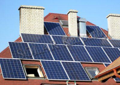 """СЕС потужністю 5 кВт (20 панелей), система ГВП і нагрівання води, піцерія """"SALVE"""", м. Виноградів"""