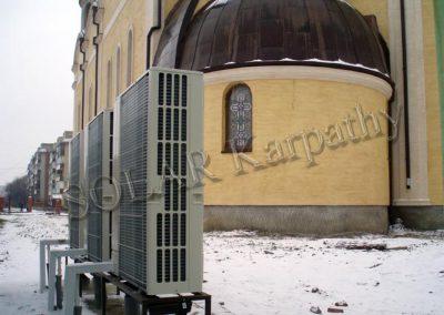 Система отопления и ГВС для Собора Святых Кирилла и Мефодия, г. Мукачево