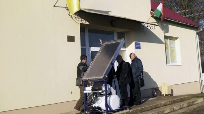 На Закарпатті відкрили майстерню по виготовленню сонячних колекторів