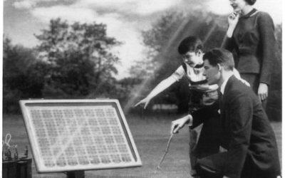 65 лет первым солнечным батареям