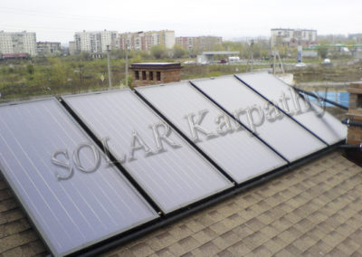 Система для отопления и ГВС для частного дома,  г. Ужгород
