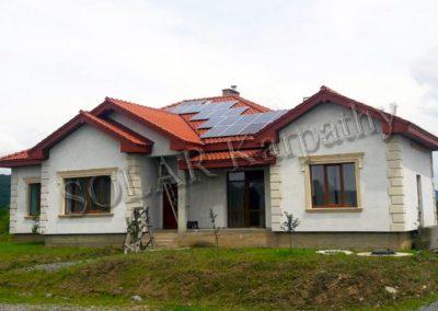 Автономная солнечная электростанция мощностью 5 кВт (18 панелей), с. Невицкое, Ужгородский р-н