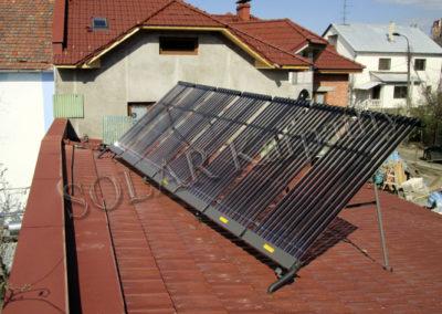 Система отопления и нагрева воды (гелиосистема и тепловой насос) для частного дома г. Ужгород