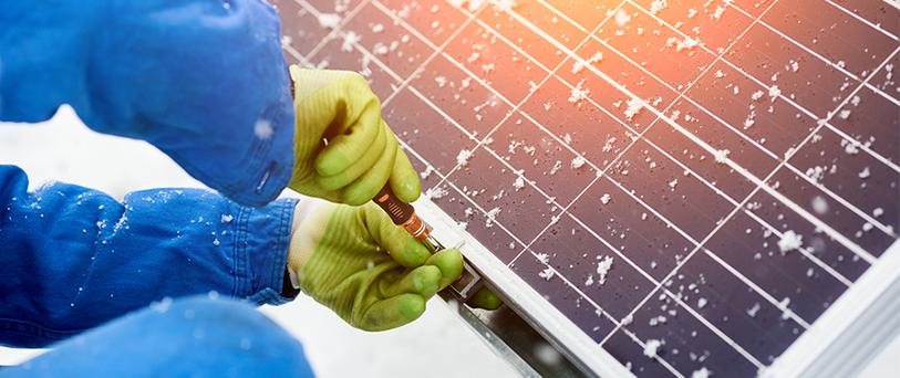 Рентабельны ли солнечные батареи в зимний период?