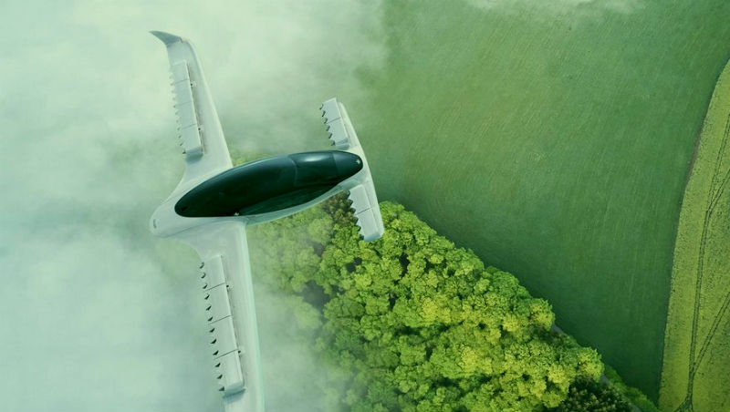Летающее электро-такси Lilium Jet: фото и видео