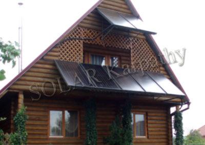 Система опалення, ГВП для приватного будинку і басейну, м. Ужгород