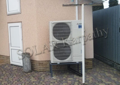 Система ГВС и отопление (тепловой насос), с. Сторожница, Ужгородский р-н