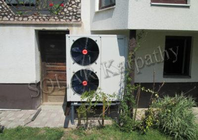Система гарячого водопостачання та опалення, м. Тячів