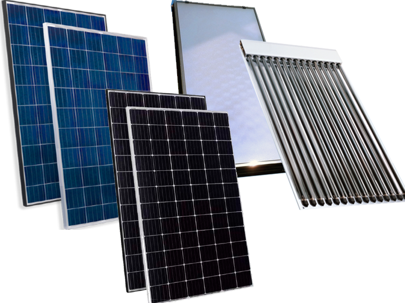 Солнечные батареи или коллекторы, что выбрать?
