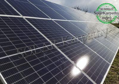 "Наземна СЕС потужністю 30 кВт (78 панелей), ""Зелений"" тариф, в с. Сюрте, Ужгородський р-н"