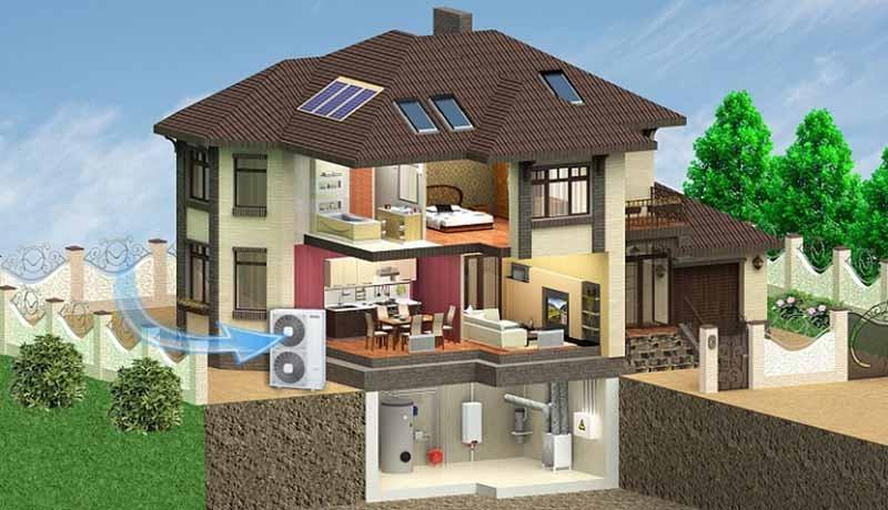 Тепловой насос — отопление будущего!