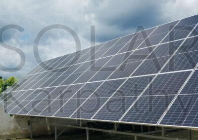 Сетевая солнечная электростанция, мощность — 30 кВт (72 панели), «Зеленый» тариф, пгт. Чинадиево, Мукачевский р-н