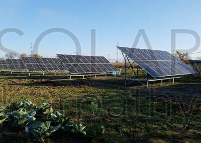 Наземна мережева СЕС потужністю 30 кВт (86 панелей), «Зелений» тариф, с. Ракошино, Мукачівський р-н
