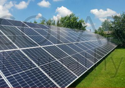 """Наземная сетевая солнечная электростанция мощностью 30 кВт, """"Зеленый"""" тариф, с. Минай, Ужгородский р-н"""