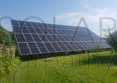 Наземная сетевая солнечная электростанция (30 кВт, 68 фотомодулей), «Зеленый» тариф, г. Мукачево