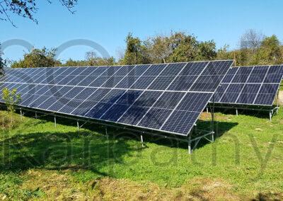 Наземная сетевая СЭС: 30 кВт*ч,  «Зеленый» тариф, с. Яблоновка, Хустский р-н