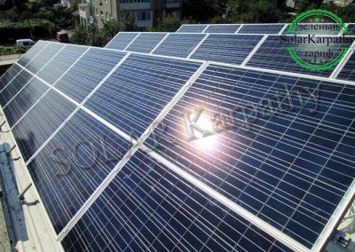 """СЕС потужністю 10 кВт під """"Зелений"""" тариф, м. Виноградів"""