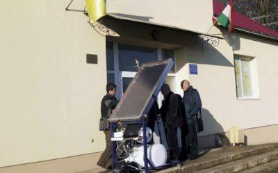На Закарпатье открыли мастерскую по изготовлению солнечных коллекторов