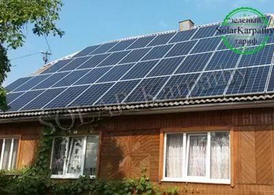"""СЕС 10 кВт (44 панелі), """"Зелений"""" тариф, с. Синевир, Міжгірський р-н"""