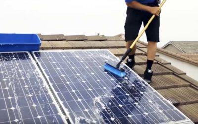 Уход за солнечными электростанциями