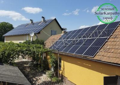 """Мережева сонячна електростанція потужністю 20 кВт під """"Зелений"""" тариф, с. Барбово, Мукачівський р-н"""