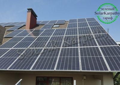 """Мережева сонячна електростанція потужністю 30 кВт (85 панелей) під """"Зелений"""" тариф, м. Ужгород"""