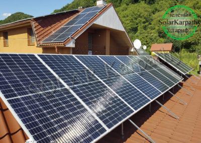 """Мережева сонячна електростанція потужністю 30 кВт (84 панелі), """"Зелений"""" тариф, с. Новоселиця, Тячівський р-н"""