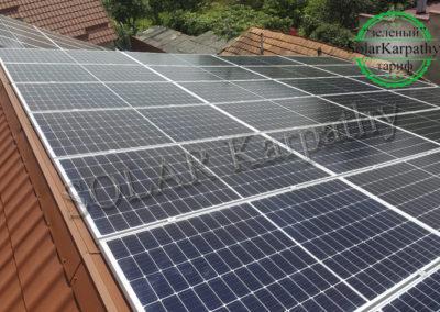 """Мережева сонячна електростанція потужністю 50 кВт, """"Зелений"""" тариф, с. Холмець, Ужгородський р-н"""