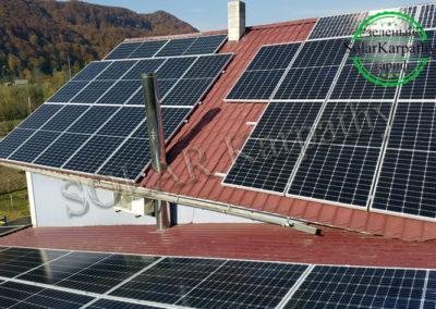 Мережева СЕС потужністю 30 кВт (84 панелі), «Зелений» тариф, с. Новоселиця, Тячівський р-н