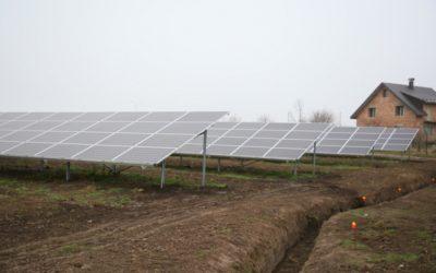 На Прикарпатье литовцы открыли солнечную электростанцию мощностью 14 МВт