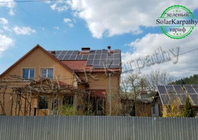 """Мережева СЕС 30 кВт (88 панелей), """"Зелений"""" тариф, смт. Міжгір'я, Міжгірський р-н"""