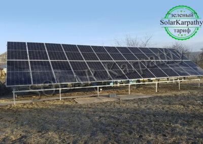 Мережева сонячна електростанція потужністю 15 кВт (26 панелей) під «Зелений» тариф, с. Великі Лази, Ужгородський р-н