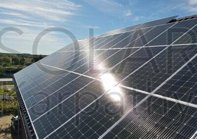 Наземна мережева сонячна електростанція, 30 кВт, «Зелений» тариф, с. Барвінок, Ужгородський р-он
