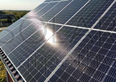 Сетевая солнечная электростанция, 30 кВт, «Зеленый» тариф, с. Барвинок, Ужгородский р-он