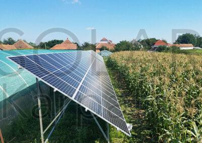 """Сетевая солнечная электростанция, мощность — 30 кВт (96 панелей), """"Зеленый"""" тариф, с. Великая Добронь, Ужгородский р-н"""