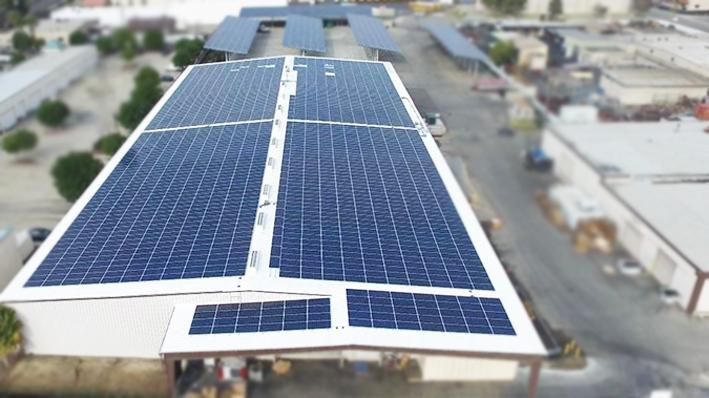 На крыше пивоварни в Умане установят солнечную электростанцию, которая будет покрывать энергопотребности предприятия